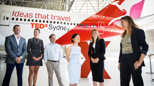 QANTAS Ideas that Travel
