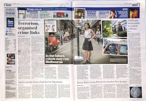 TheAge spread