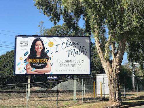 Choose Maths Billboard Brisbane